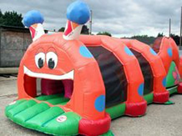 Inflatable Cartoon Tunnel For Children Amusement Park Games