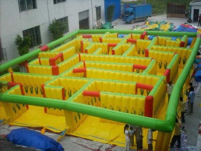 inflatable maze game
