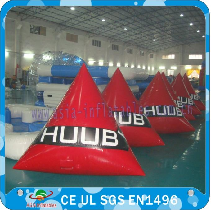 Inflatable Swimming Buoy With Customized Logos for Swim Event