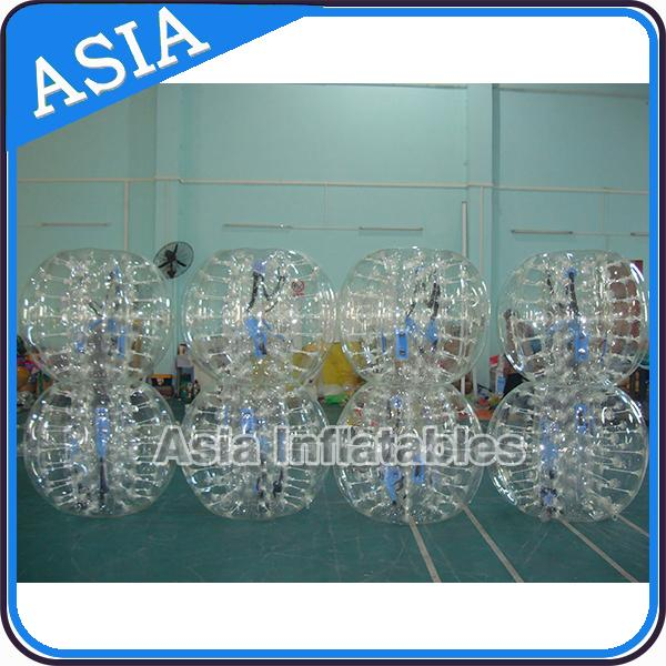 Fashionable Body Soccer Ball / Body Football Bubble For Retail