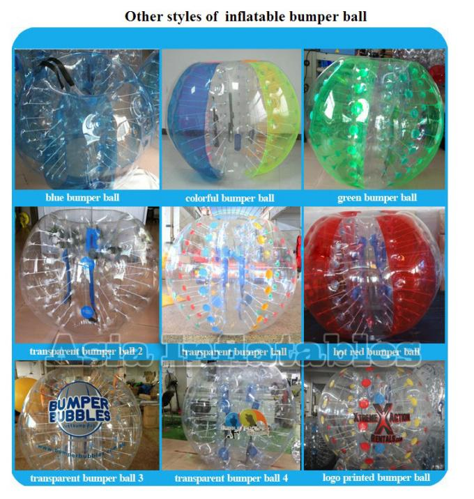 Colorful Attractive Inflatable Loopy Bumper Ball For Party Games