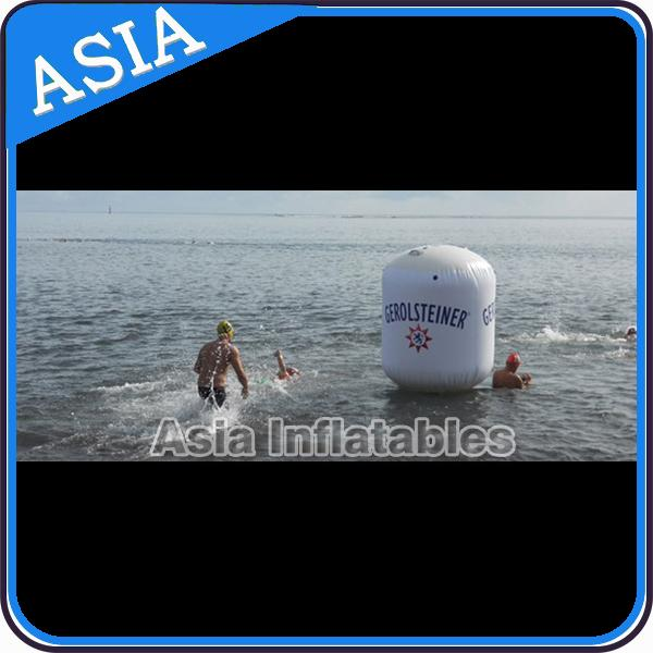 Floating Striking Marker Inflatable Buoy  For Water Triathlons Advertising