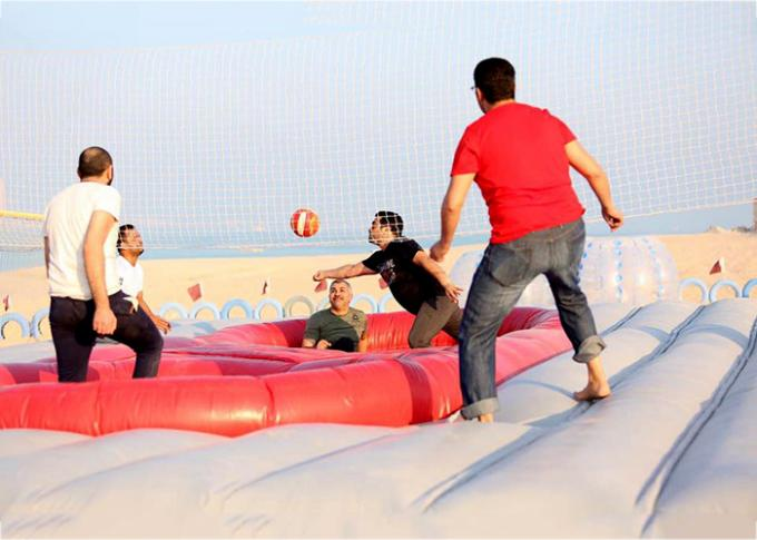 CE Certificate Inflatable Beach Bossaball Game Court Sport Games