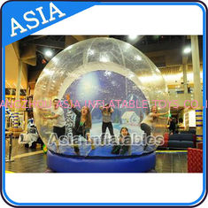 চীন Human Inflatable Bubble Tent Xmas Inflatable Snow Globe EN - 71 কারখানা