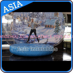 চীন Strong PVC Christmas Snow Globe / Inflatable Bubble Tent For Sale কারখানা