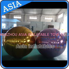 চীন Inflatable Helium Advertising Mirror Balloon / Giant Inflatable Mirror Ball Ground কারখানা