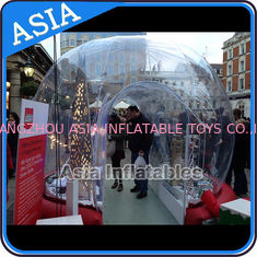 চীন Durable Human Inflatable Snow Globe / Inflatable Tent For Chirstmas কারখানা