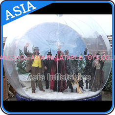 চীন Airblown Yard Inflatable Bubble Tent Decoration , Inflatable Christmas Snow Globe কারখানা