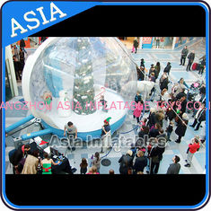 চীন Christmas Inflatable Snow Globe Inflatable Bubble Tent Water And Fire Proof কারখানা
