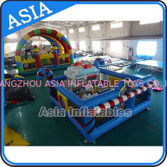 5ml Commercial Inflatable Bouncer Circus Bounce Playground Fun City