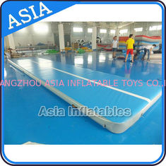 চীন 10ml Light Blue Inflatable Air Gymnastics Mats For P কারখানা