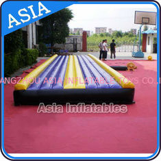 চীন Yoga Training Inflatable Tumble Mattress With Constant Blower কারখানা