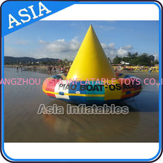চীন UL Approval 4m Floating Spin Inflatable Boats / Water Discoboat For Water Game কারখানা