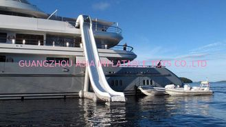 চীন Outdoor Inflatable Water Floating Sports, Inflatable Yacht Slide For Boat/Yacht কারখানা