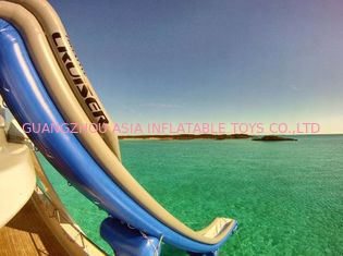 চীন Outdoor PVC Inflatable Aqua Sports,  Marine Slide For Yacht, Yacht Climbing কারখানা