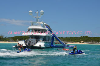 চীন Giant Inflatable Water Sports,Inflatable Yacht Sliding Sports Games কারখানা