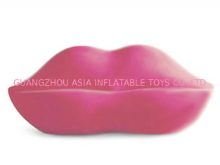 চীন New Lip Shaped Design Inflatable Pink Couch Sofa With Two Seats For Relax কারখানা