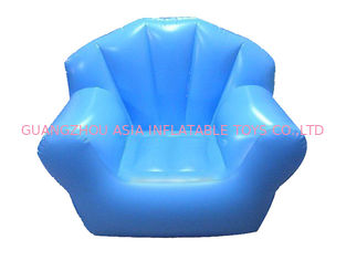 চীন Comfortable Light Blue Pvc Tarpaulin Inflatable Chair Sofa For One People কারখানা