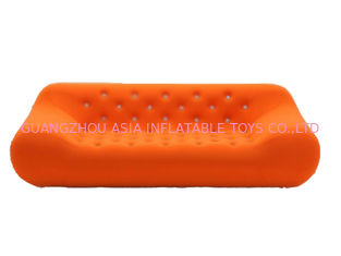 চীন Home Chesterfield Orange Inflatable Sofa For Watching Tv কারখানা