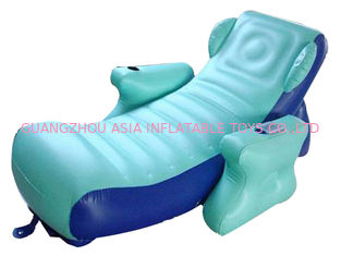 চীন Eco-friendly PVC Inflatable Water Sofa Bed , Advertising Inflatable Floating Sofa কারখানা