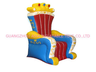 চীন Ce Certificated Inflatable King Chair Sofa Furniture For Rental কারখানা