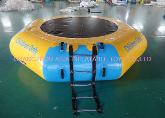 চীন Commercial Water Games Inflatable Crocodile Water Trampoline With 0.9mm Pvc Tarpaulin কারখানা