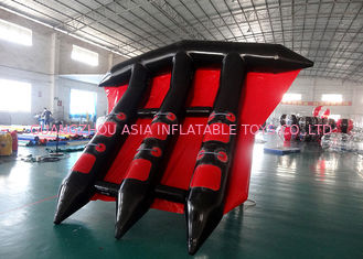 চীন Customized Logo Towable Inflatables / Inflatable Flying Fish For Sea কারখানা