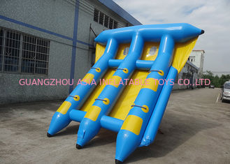 চীন 4-6 Passangers InflatableTowable Sport Games/ Fly Fishing Boat Fish Raft Boat কারখানা