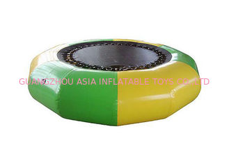 চীন Hoe Sale Jump Water Trampoline ,  Inflatable Water Games For Water Park কারখানা