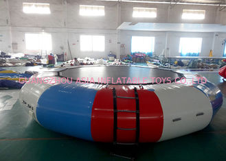চীন Commercial Air Tight Inflatable Water Trampoline For Water Sport Games কারখানা