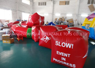 চীন Water Triathlons Advertising Inflatable Promoting Buoy For Ocean Or Lake কারখানা