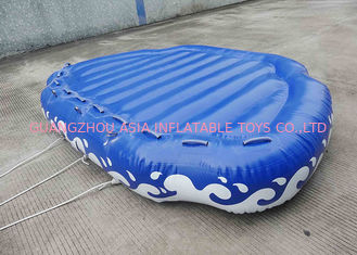 চীন 4 Passangers Inflatable Water Ski Tubes Towable Water Surfboard Platform For Beach কারখানা
