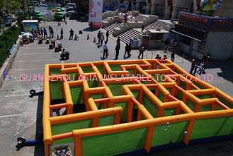 চীন Inflatable Labyrinth Games, Inflatable Square Maze Game For Chilren কারখানা