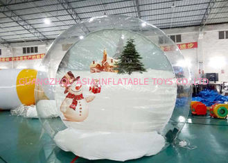 চীন Customize TPU Inflatable Bubble House for Show কারখানা