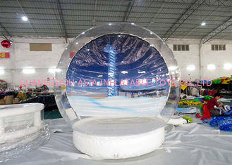 চীন Take Photos Inflatable Snow Globes for sale কারখানা
