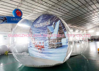 চীন OEM Inflatable Snow Globe with Tunnel for Promotion কারখানা