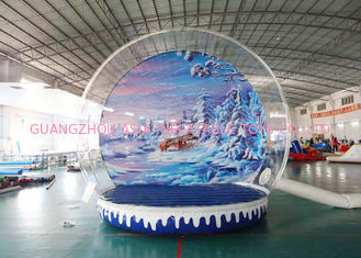 চীন Inflatable Snow Globe / Bubble Tent for Take Ptoto and Exhibition কারখানা