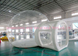 চীন Half Transparent Inflatable Dome Tent / Bubble Tent For Lawn Camping কারখানা