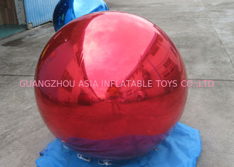 চীন Helium Advertising Inflatables Red Mirror Balloon For Building Decoration কারখানা