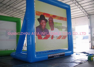 চীন PVC Inflatable Billboard , Advertising Inflatables Water Billboard কারখানা