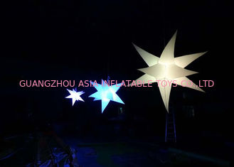 চীন Bright Inflatable LED Lighting Hanging Christmas Star for sale কারখানা