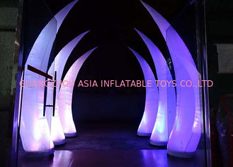 চীন Party Stage Decoration Inflatable Cone with LED Lighting কারখানা