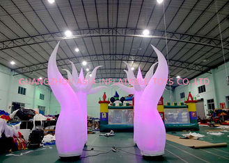 চীন Beauty Inflatable Tentacle With Led Lighting For Party / Stage / Room Decoration কারখানা