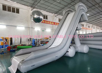 চীন 0.90mm PVC Water Slide, Inflatable Water Sports For Water Park কারখানা