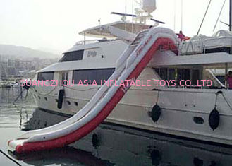 চীন Giant Inflatable Water Slide , Inflatable Water Amusement Equipment, Yacht Slide কারখানা