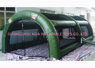 চীন CE Approved Inflatable Paintball Tent Re - Usability Inflatable Air Tent কারখানা