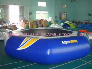চীন Takeoff Towable And Inflatable Water Trampoline For Water Sports Games কারখানা