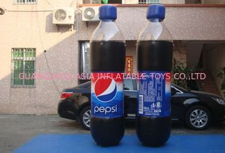 Replicate PVC Inflatable Bottles Pepsi Cola Bottle For Trade Show