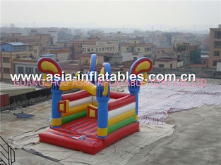 চীন Commercial attractive kids inflatable bouncer castle for fun কারখানা