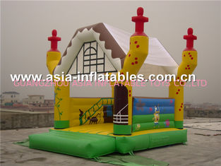 চীন 2014 new design advertising inflatable combo unit/promotion PVC inflatable jumping bouncer কারখানা